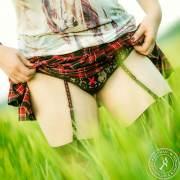 Stockings Schoolgirl Style