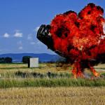 Stuntmen  – The Movie Car explosion