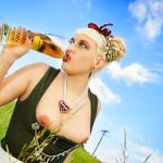German Beer Girl